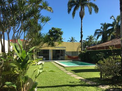 Photo for Beautiful house with pool, walk to Mar Marched beach and Pernambuco