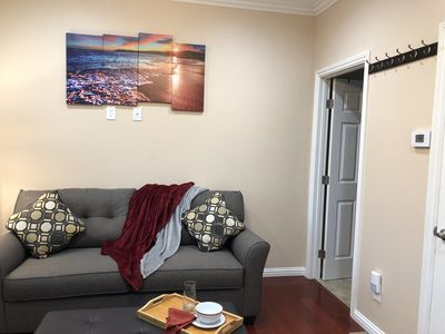 Photo for High end 1BR/1BA Attached House in the Heart of Silicon Valley, Non-Smokers only