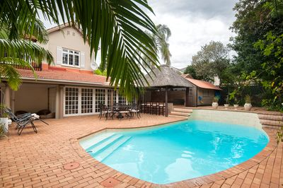 Pool and braai area