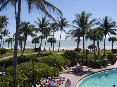 Photo for June weeks $1190+ tx.   Pointe Santo Just Renovated Gulf Vw Ground Flr 2BR Condo