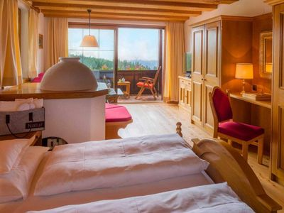 Photo for Double room II including breakfast with south balcony II - Hotel Lärchenhof nature