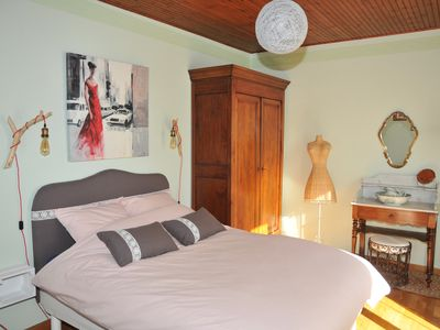 Photo for Bed and breakfast 2 people. Swimming pool. Sea and Countryside. Amarante Room