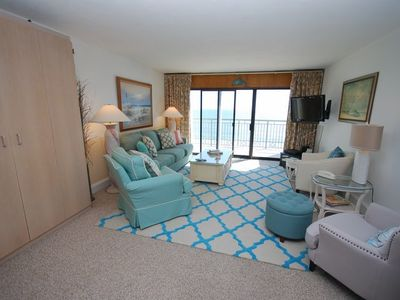 Photo for Oceanfront 1BR 1BA Condo With Community Pool!