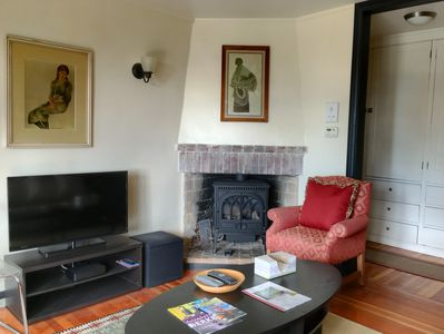 living room with Gas Fire