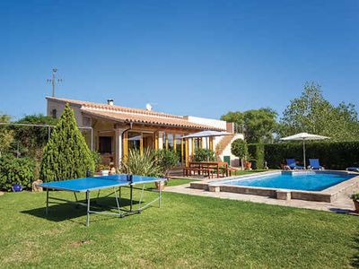 Photo for Villa, within driving distance of beach, w/ pool, built-in BBQ + conservatory