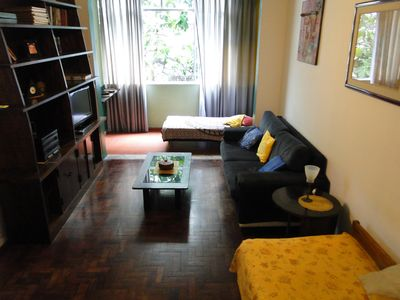 Photo for Apartment on the Copacabana with sea views