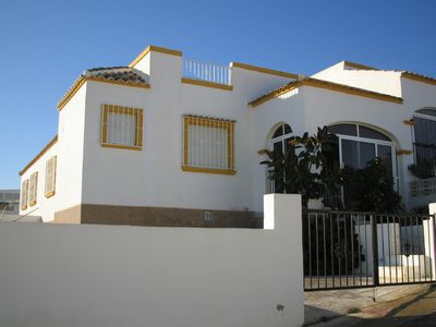 Photo for 3 Bedroom bungalow near La Marina beaches with air conditioning and WiFi