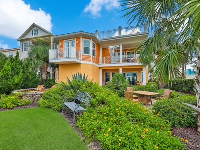 Photo for Dog-friendly, waterfront home with shared pool/hot tubs and beach access