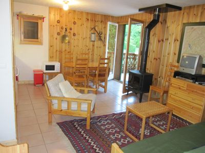 Photo for 2 bdr, mountain view, quiet location in the green close to town, terrace, garage