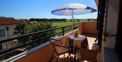Photo for Apartment Jadranka up to 5 persons, stunning view from a balcony