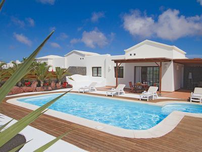 Photo for One bedroom Villa, sleeps 6 in Playa Blanca with Pool and WiFi