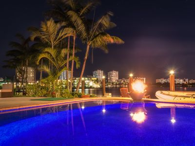 Photo for 5br/4b Stunning Waterfront Pool/Beach Home