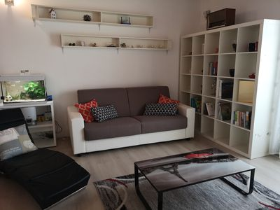 Photo for Bright apartment in villa
