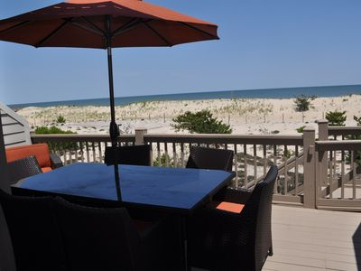 Photo for Oceanfront Renovated 4BR + Den/4BA Townhouse With Parking & Community Pool