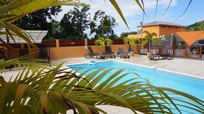 Photo for 1BR Apartment Vacation Rental in Deshaies
