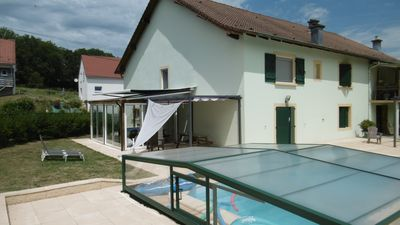 Photo for 100 m2 ground floor with pool, terrace and veranda