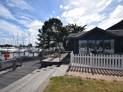 Photo for Luxury apartment set in unique setting within Chichester Marina.