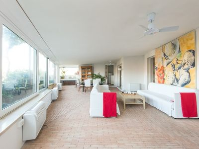 Photo for Apartment 719 m from the center of Rome with Internet, Air conditioning, Terrace, Washing machine (9841)