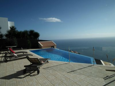 Photo for Luxury Villa, private heated pool and garden