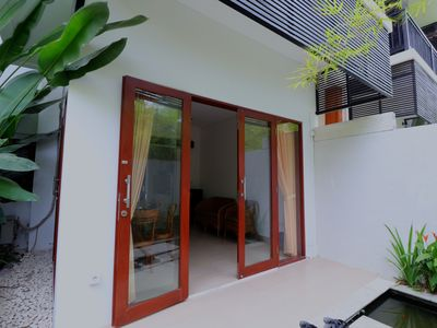 Photo for Sanur Private room 103 with terrace and kitchen