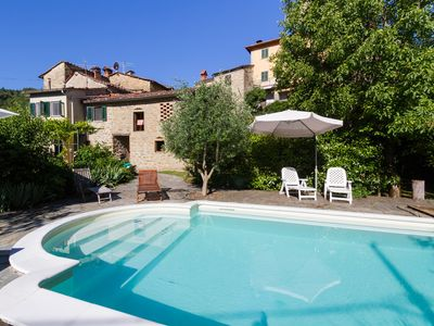 Photo for Rural family house in the Casentino with exclusive pool & gardens. Pet friendly