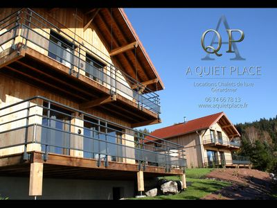 Photo for Beautiful Luxury Cabin, 4 bedrooms, terrace, facing south, sauna, fireplace, wif