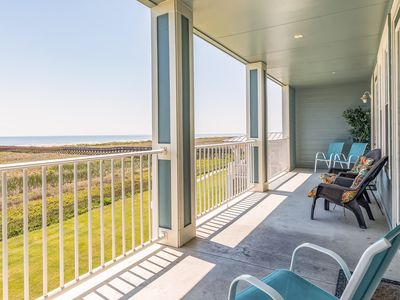 Photo for Oceanfront condo w/ gorgeous views, shared pool & hot tub - dogs ok!