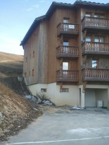 Photo for FURNISHED APARTMENT 5/6 PERSONNES 1 ° FLOOR LA PLAGNE SOLEIL