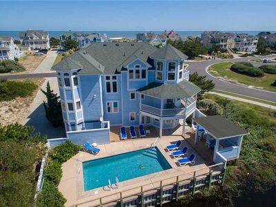 Photo for Mermaids' Retreat: Semi-oceanfront with ocean views,  a private pool, hot tub, and community pool.
