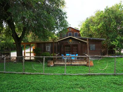 Photo for Bohemian Casita just a short walk from the Guadalupe River on the sought after River Road