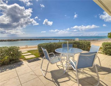Photo for Oceanfront Unit at Sunset Cove on Seven Mile Beach (Sleeps up to 7)