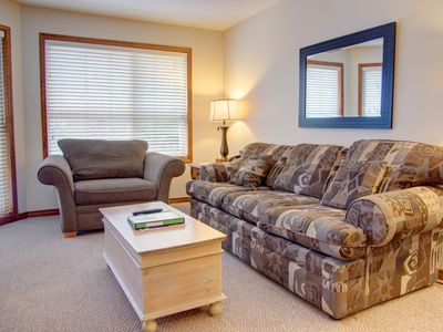 Photo for Prime Ski-in Ski-out Location! Pool, Hot tubs, BBQ, sleeps 4 (110)
