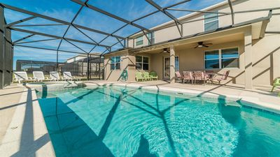 Photo for ✦ Spacious Villa ✦ w/ Private Pool and Pool Table - Disney Nearby ✦