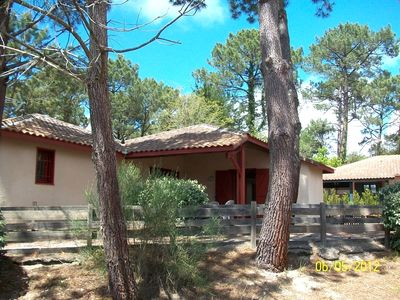 Photo for Villa T2 Moliets nearest beach and golf with residential pool