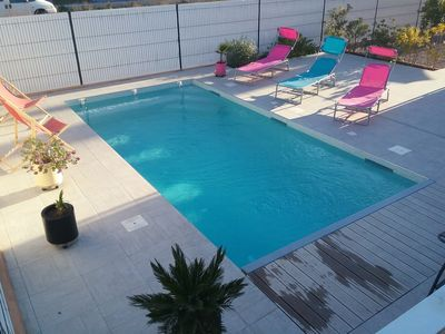 Photo for Villa 2 km of beaches, all equipped with private pool