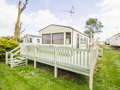 Photo for Luxury 6 berth static caravan for hire at Heacham park in Norfolk ref 21003