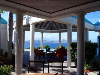 Photo for Stunning Hilltop Villa with Breathtaking Caribbean Sea View