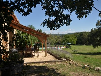 Photo for ***** Hope Cottage***** , Sol du Mazel  - Dordogne.  Heated Pool. Child Friendly