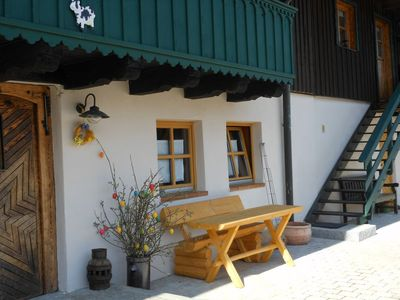 Photo for Top holiday home in a secluded location near ski slope and St. Englmar / Kollnburg