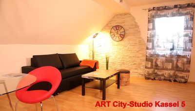 Photo for Exclusive quiet city apartment / near downtown Kassel + DOCUMENTA / Hercules view