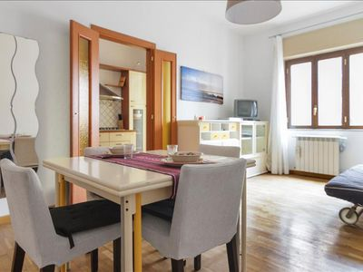 Photo for Large 2bdr apartment in Rione Alto district, Naples