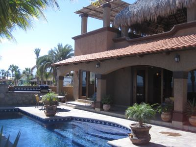 Photo for Luxurious Beachfront Home Sleeps 7, a 15-Minute Walk From Loreto Town Plaza