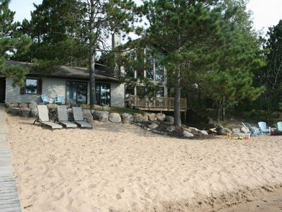 Photo for Beautiful Sand Beach for Family-Friendly Get Away on Horseshoe Lake