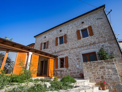 Photo for Beautiful stone house, renovated old istrian rural cottage