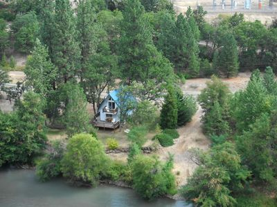 Photo for Beautiful Klickitat Riverfront Chalet Style Rental, Boat Lauch, Camping Property