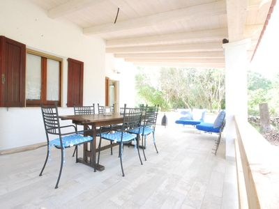 Photo for Beautiful villa with a large veranda, in a residence