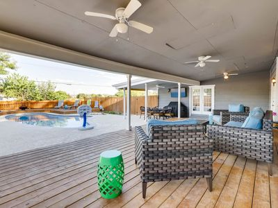 Photo for Relaxing Retreat with Private Pool & Gameroom! Great location to SA Attractions