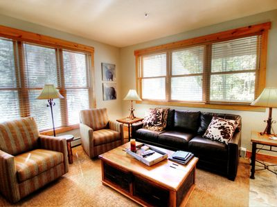 Photo for Trappers Crossing 2 BR/2 BA Quiet & Peaceful but close to River Run-Free WiFi