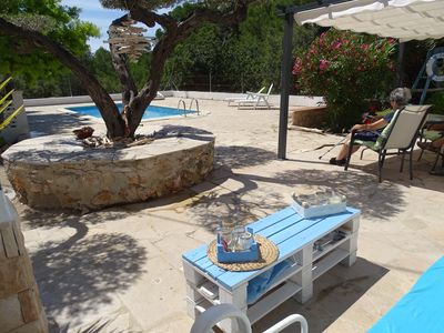 Photo for Detached house with private pool next to the beach