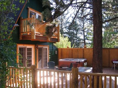Photo for Moonridge Spa Cabin-Near Fishing, Golf, Mountain, Biking, Zoo, & Lake
